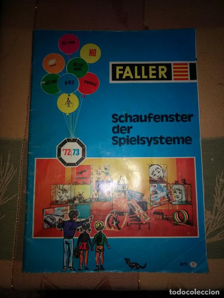 ANTIGUO CATALOGO FALLER 1972/73 (Juguetes - Catálogos y Revistas de Juguetes)