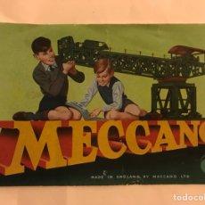 Juguetes antiguos: MECANO. FOLLETO PUBLICIDAD MADE IN ENGLAND (H.1960?). Lote 132517310