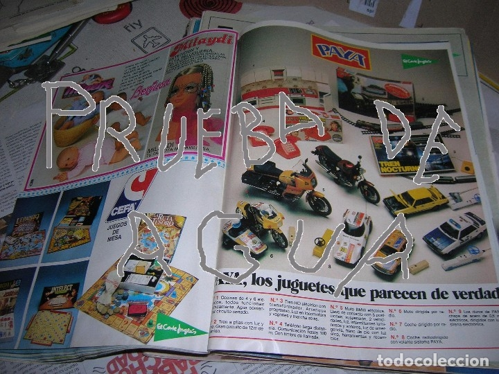 Catálogo 1982 Juguetes El Corte Inglés Madelm Comprar Catálogos