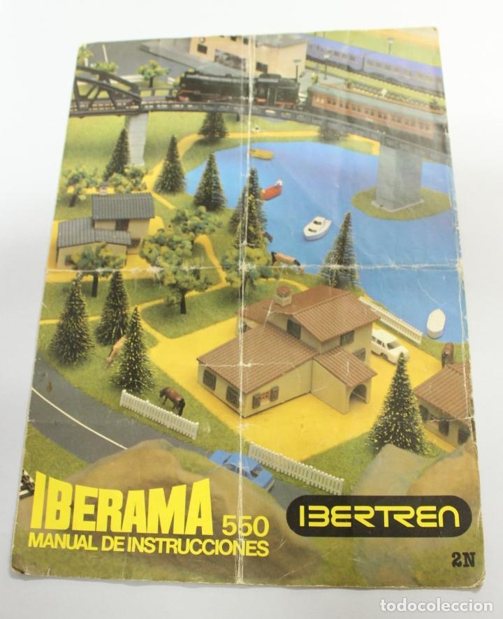 IBERTREN IBERAMA 550 MANUAL DE INSTRUCCIONES 2N segunda mano