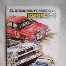 Juguetes antiguos: GUÍA DEL SCALEXTRISTA AÑO 1985. EL APASIONANTE MUNDO DE SCALEXTRIC, 28 PAGINAS.. Lote 134009258
