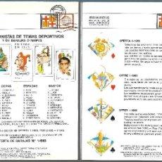 Juguetes antiguos: CATALOGO DE BARAJAS IRIS MUNDUS 1988.. Lote 140427046