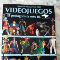 Juguetes antiguos: CATÁLOGO VIDEOJUEGOS Y JUGUETES EL CORTE INGLÉS NAVIDAD - REYES 2005 - 2006. SUPER MARIO BROS BARBIE. Lote 134401310