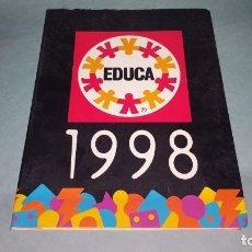 Juguetes antiguos: CATALOGO JUGUETES EDUCA AÑO 1998. Lote 136127926
