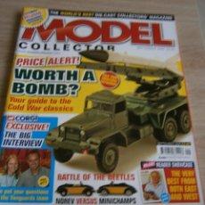 Juguetes antiguos: MODEL COLLECTOR, SEPTIEMBRE 2007, DIE-CAST, DINKY, CORGI.. Lote 136182822