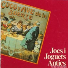 Juguetes antiguos: CUDERNILLO EN CATALAN -JOCS I JOGUETS ANTICS-16 PÁGINAS-. Lote 136317674