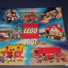 Juguetes antiguos: CATALOGO LEGO 2007. Lote 138878874