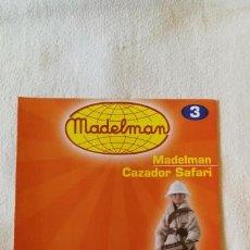 Juguetes antiguos: MADELMAN - COLECCIÓN ALTAYA - FASCÍCULO Nº 3 - CAZADOR SAFARI - COMO NUEVO. Lote 138909902