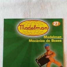 Juguetes antiguos: MADELMAN - COLECCIÓN ALTAYA - FASCÍCULO Nº 27 - MECÁNICO DE BOXES - COMO NUEVO. Lote 138911422