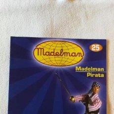 Juguetes antiguos: MADELMAN - COLECCIÓN ALTAYA - FASCÍCULO Nº 25 - PIRATA - COMO NUEVO. Lote 138911766
