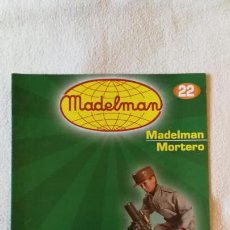 Juguetes antiguos: MADELMAN - COLECCIÓN ALTAYA - FASCÍCULO Nº 22 - MORTERO (3) - COMO NUEVO. Lote 138912022