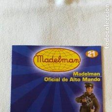 Juguetes antiguos: MADELMAN - COLECCIÓN ALTAYA - FASCÍCULO Nº 21 - OFICIAL ALTO MANDO - COMO NUEVO. Lote 138912110