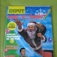Juguetes antiguos: REVISTA INPUT SINCLAIR NÚMERO 4 (DICIEMBRE 1985). ZX SPECTRUM. Lote 138952386