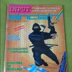 Juguetes antiguos: REVISTA INPUT SINCLAIR NÚMERO 5 --- ZX SPECTRUM. Lote 138952474