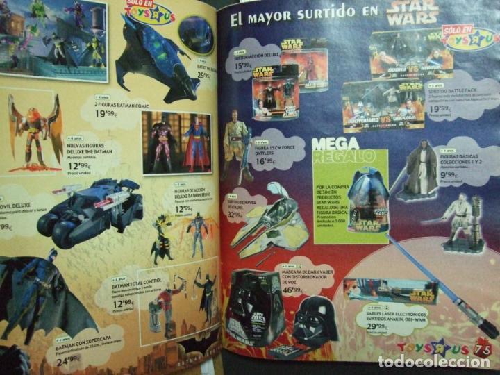 Juguetes antiguos: CATALOGO JUGUETES TOYS R US - NAVIDAD AÑO 2005 - ACTION MAN , BATMAN , STAR WARS , LEGO 110 PÁGINAS - Foto 3 - 139077434