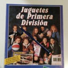 Juguetes antiguos: EXCELENTE CATÁLOGO JUGUETES HIPERCOR 1989. Lote 139116525
