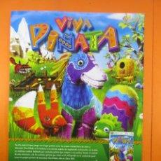 Juguetes antiguos: PUBLICIDAD 2007 - VIVA PIÑATA - XBOX 360 LIVE. Lote 139414002