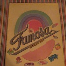 Juguetes antiguos: FAMOSA, CATALOGO TIENDA 1986, NANCY, BARRIGUITAS, , DARLING ETC. Lote 139496370