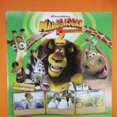 Juguetes antiguos: PUBLICIDAD 2008 - MADAGASCAR 2 - PLAYSTATION 3 2 NINTENDO DS WII XBOX 360 . Lote 139518370