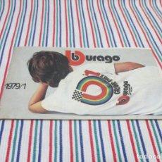 Juguetes antiguos: BURAGO MUY DIFICIL CATALOGO TIENDA 1979/1. Lote 139755266