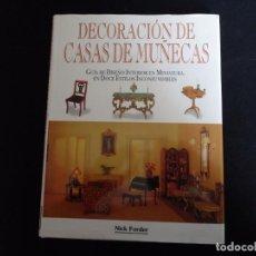 Juguetes antiguos: LIBRO DE CASAS DE MUÑECAS. Lote 139876534