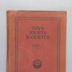 Juguetes antiguos: CATALOGO DE JUGUETES. AÑOS 20-30. CASAS DE MUÑECAS. BARCOS. CASTILLOS.... Lote 140328982