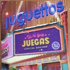 Juguetes antiguos: CATÁLOGO DE JUGUETES ESPECIAL NAVIDAD 2016 JUGUETTOS. Lote 140514950