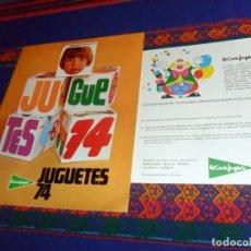 Juguetes antiguos: DE LOS JUGUETES EL CORTE INGLÉS 74, 79 80, 90 91, 91 92, 92 93, 95 96 MUNDO GALERÍAS PRECIADOS 76. Lote 47953420