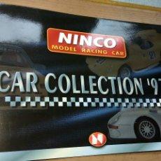 Juguetes antiguos: NINCO CATÁLOGO CAR COLLECTION 1997. Lote 140730793