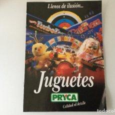 Juguetes antiguos: CATALOGO JUGUETES PRICA 1987,TENTE NANCY PLAYMOBIL SCALEXTRIC MASTERS UNIVERSO, RICO ORBEA BMX, ETC. Lote 141181134