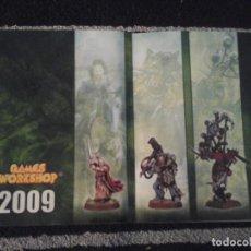 Juguetes antiguos: CATÁLOGO GAMES WORKSHOP 2009. Lote 142387222