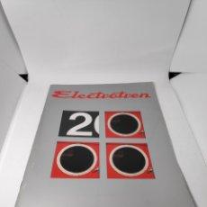 Juguetes antiguos: ELECTROTREN CATÁLOGO 2000. Lote 142552054