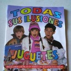 Juguetes antiguos: CATÁLOGO JUGUETES HIPERCOR 93/94. Lote 142817745