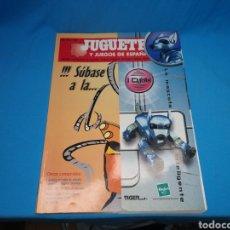 Juguetes antiguos: REVISTA CATÁLOGO JUGUETES Y JUEGOS DE ESPAÑA. N°158. JUNIO/JULIO 2001. Lote 143135494