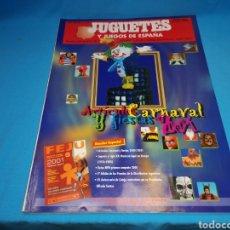 Juguetes antiguos: REVISTA CATÁLOGO JUGUETES Y JUEGOS DE ESPAÑA. N°155. SEPTIEMBRE/OCTUBRE 2000. Lote 143137257