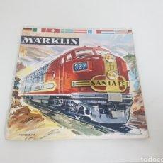 Juguetes antiguos: CATÁLOGO MARKLIN 60 PAGINAS 1961/62 D DM PORTADA SANTA FE. Lote 143256078