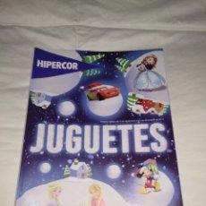 Juguetes antiguos: CATALOGO DE JUGUETES DE HIPERCOR. Lote 143729146