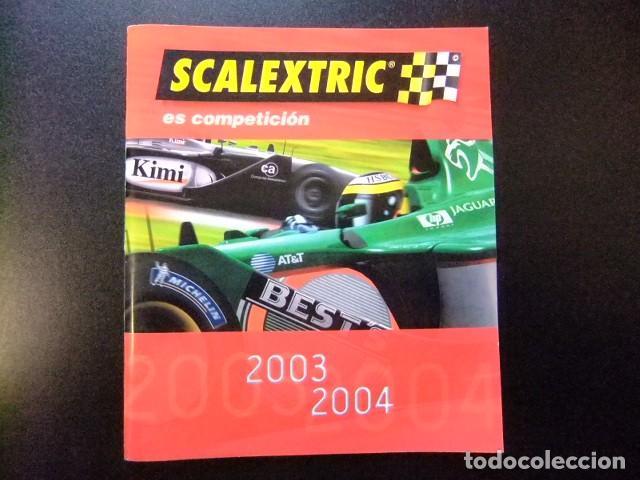 SCALEXTRIC CATALOGO 2003 - 2004 TECNITOYS (Juguetes - Catálogos y Revistas de Juguetes)