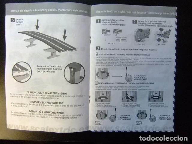 Juguetes antiguos: SCALEXTRIC Catalogo Circuito Tor TecniToys 2003 - Foto 3 - 144520518