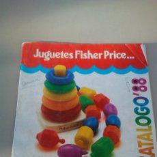 Juguetes antiguos: CATALOGO JUGUETES FISCHER PRICE AÑO 1988. Lote 144587750