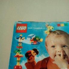 Juguetes antiguos: CATALOGO LEGO 2000. Lote 144727570