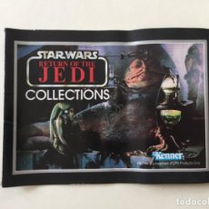 Juguetes antiguos: CATÁLOGO STAR WARS COLECTIONS RETURN OF THE JEDI _LEY336. Lote 144836418
