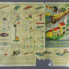 Juguetes antiguos: CATALOGO JUGUETES ROI-PAYA, Nº 2 CONSTRUCCIONES PARA FERROCARRILES. Lote 145247526