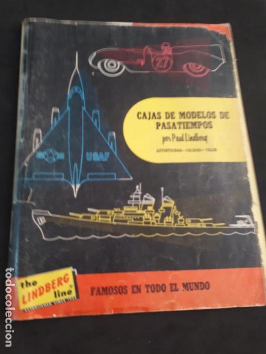 CATALOGO DE MAQUETAS PAUL LINDBERG COCHES BARCOS AVIONES AÑOS 60 (Juguetes - Catálogos y Revistas de Juguetes)