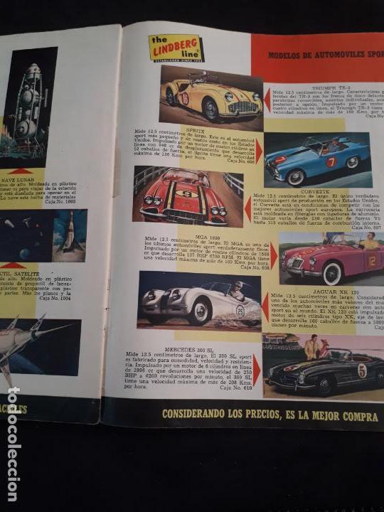 Juguetes antiguos: CATALOGO DE MAQUETAS PAUL LINDBERG COCHES BARCOS AVIONES AÑOS 60 - Foto 6 - 146495502