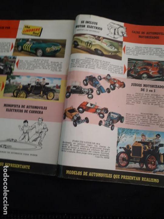 Juguetes antiguos: CATALOGO DE MAQUETAS PAUL LINDBERG COCHES BARCOS AVIONES AÑOS 60 - Foto 7 - 146495502