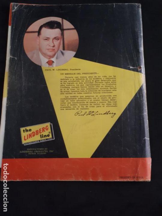 Juguetes antiguos: CATALOGO DE MAQUETAS PAUL LINDBERG COCHES BARCOS AVIONES AÑOS 60 - Foto 8 - 146495502