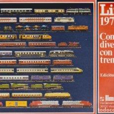 Juguetes antiguos: CATÁLOGO LIMA 1977 - 1978 EDICIÓN ESPAÑOLA. Lote 146907598