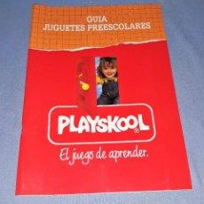 Juguetes antiguos: CATALOGO PLAYSKOOL AÑO 1991 EN MUY BUEN ESTADO VER FOTO Y DESCRIPCION. Lote 147061318