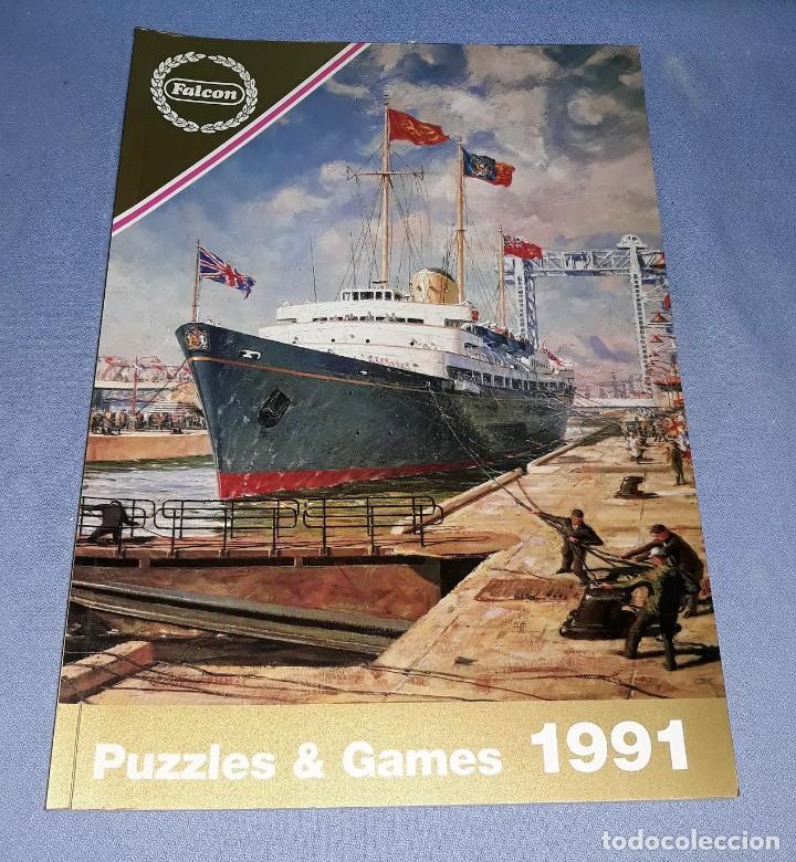 CATALOGO FALCON AÑO 1991 PUZZLES & GAMES EN MUY BUEN ESTADO VER FOTO Y DESCRIPCION (Juguetes - Catálogos y Revistas de Juguetes)